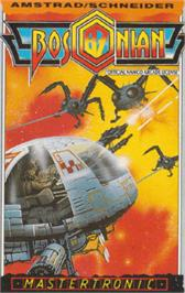 Box cover for Bosconian '87 on the Amstrad CPC.