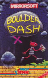 Box cover for Boulder Dash on the Amstrad CPC.