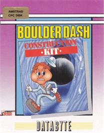 Box cover for Boulder Dash Construction Kit on the Amstrad CPC.