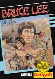 Box cover for Bruce Lee on the Amstrad CPC.