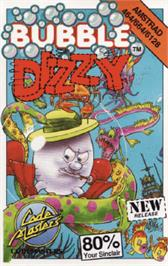 Box cover for Bubble Dizzy on the Amstrad CPC.