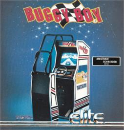 Box cover for Buggy Boy/Speed Buggy on the Amstrad CPC.