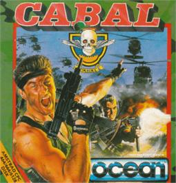 Box cover for Cabal on the Amstrad CPC.