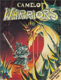 Box cover for Camelot Warriors on the Amstrad CPC.