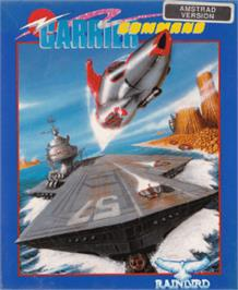 Box cover for Carrier Command on the Amstrad CPC.