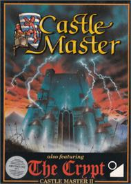 Box cover for Castle Master on the Amstrad CPC.