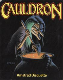 Box cover for Cauldron on the Amstrad CPC.