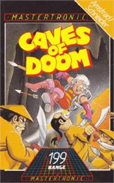 Box cover for Caves of Doom on the Amstrad CPC.
