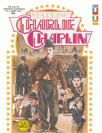 Box cover for Charlie Chaplin on the Amstrad CPC.