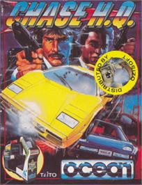 Box cover for Chase H.Q. on the Amstrad CPC.