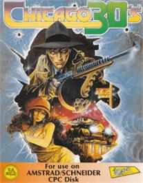 Box cover for Chicago 30's on the Amstrad CPC.