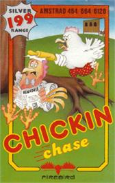 Box cover for Chickin Chase on the Amstrad CPC.