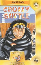 Box cover for Chubby Gristle on the Amstrad CPC.