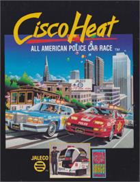 Box cover for Cisco Heat: All American Police Car Race on the Amstrad CPC.