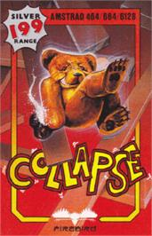 Box cover for Collapse on the Amstrad CPC.