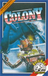 Box cover for Colony on the Amstrad CPC.