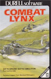 Box cover for Combat Lynx on the Amstrad CPC.