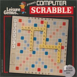 Box cover for Computer Scrabble on the Amstrad CPC.