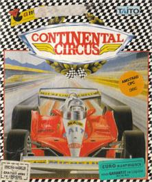 Box cover for Continental Circus on the Amstrad CPC.