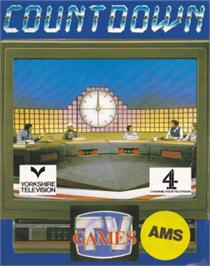 Box cover for Count Down on the Amstrad CPC.