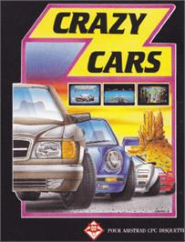 Box cover for Crazy Cars on the Amstrad CPC.