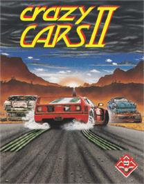 Box cover for Crazy Cars 2 on the Amstrad CPC.