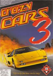 Box cover for Crazy Cars 3 on the Amstrad CPC.