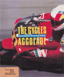 Box cover for Cycles: International Grand Prix Racing on the Amstrad CPC.
