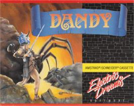 Box cover for Dandy on the Amstrad CPC.