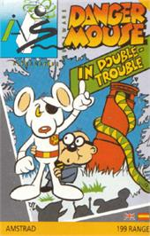 Box cover for Danger Mouse in Double Trouble on the Amstrad CPC.