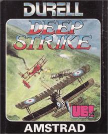 Box cover for Deep Strike on the Amstrad CPC.
