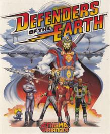 Box cover for Defenders of the Earth on the Amstrad CPC.