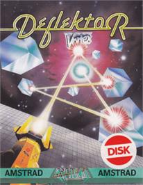 Box cover for Deflektor on the Amstrad CPC.