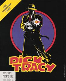 Box cover for Dick Tracy on the Amstrad CPC.