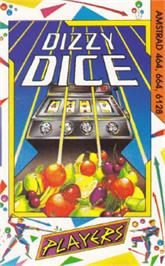 Box cover for Dizzy Dice on the Amstrad CPC.