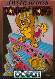 Box cover for Donkey Kong on the Amstrad CPC.