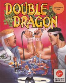 Box cover for Double Dragon on the Amstrad CPC.
