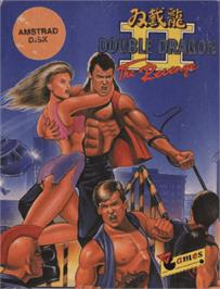Box cover for Double Dragon II - The Revenge on the Amstrad CPC.