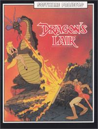 Box cover for Dragon's Lair on the Amstrad CPC.