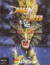 Box cover for Dragon Breed on the Amstrad CPC.