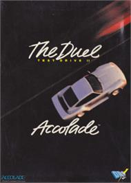 Box cover for Duel: Test Drive 2 on the Amstrad CPC.