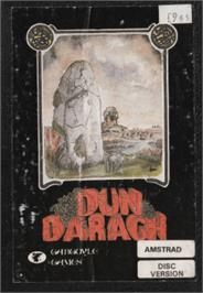 Box cover for Dun Darach on the Amstrad CPC.