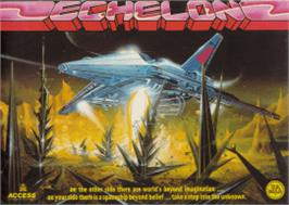 Box cover for Echelon on the Amstrad CPC.