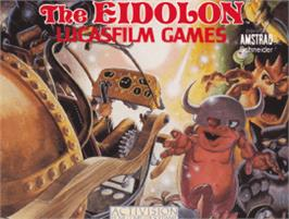 Box cover for Eidolon on the Amstrad CPC.
