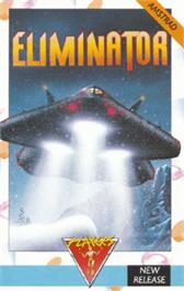 Box cover for Eliminator on the Amstrad CPC.