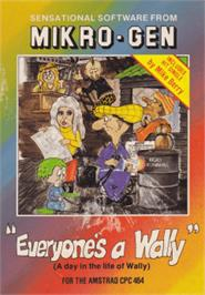 Box cover for Everyone's A Wally (The Life of Wally) on the Amstrad CPC.