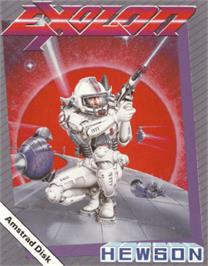 Box cover for Exolon on the Amstrad CPC.