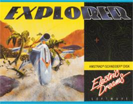 Box cover for Explorer on the Amstrad CPC.