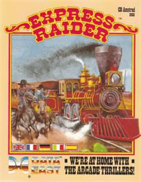 Box cover for Express Raider on the Amstrad CPC.