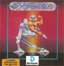 Box cover for Extreme on the Amstrad CPC.
